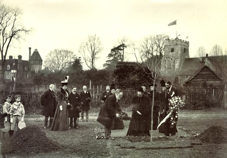 Empress Frederick at Maresfield Recreation Ground - 1897