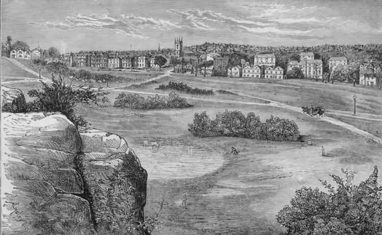 The Common and Mount Ephraim - 1880
