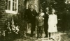 Charles Barrow & brother Isaac with children Hazel & Dennis and Friend, Fir Tree Cottage