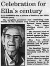 Ella Harman at 100