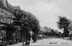 Burwash High Street in 1907