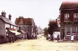Crowborough Cross in 1907