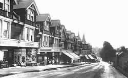 Uckfield High Street in 1903