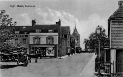 Ticehurst High Street in 1910