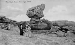 The Toad Rock in 1910