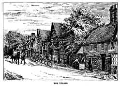 Mayfield village in 1892