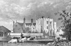 Hever Castle in 1904